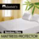 Alastairs Diamond Quilted Cotton Bamboo Mattress Protector