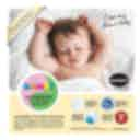 Bambi Baby Soft Jersey Waterproof Cot Mattress Protector