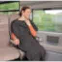 Bucky Ultra Compact Travel Blanket Charcoal