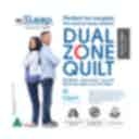 Couples Dual Zone Summer Quilt