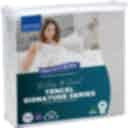 Protect-A-Bed Tencel Siganature Jaquard Fitted Waterproof Mattress Protector